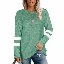 Fashion O Neck Party Fall Shirts Blouse Splicingc Pullover Career Lady#x27;s Tops $19.67