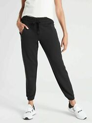 NWT $89 Athleta Recover Bounce Back Jogger Sweatpants Black Size 1X $49.99