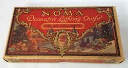 Vintage NOMA Christmas Decorative Lighting Outfit 1927 All Lights WORK