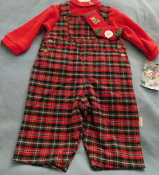 NWT BABY BOYS 3 PIECE OUTFIT PERFECT FOR CHRISTMAS SIZE 6 MONTHS $8.55