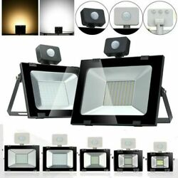 10W 20W 30W 50W 100W PIR Motion Sensor LED Flood Light Spot Outdoor Lamp US $24.90