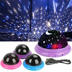 USB LED Starry Night Sky Projector Lamp Kids Gift Star light Cosmos Master US $7.89