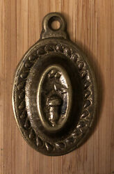 Antique Brass Keyhole Cover $6.00