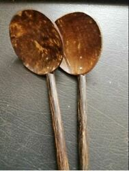 Coconut Shell Spoon Natural Kitchen Tools Equipment Ceylon Registered Post $5.89