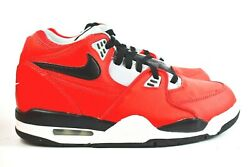 Nike Air Flight 89 Mens Size 10.5 Shoes CN5668 600 Chicago Red Cement Retro $89.99