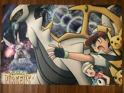 Pokemon arceus and the jewel of life anime multi use Floor Table Room Mat $23.95