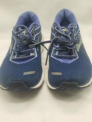 Brooks Ghost 12 Womens Running Lace Up Blue Shoes Size 7.5 M 1203051B413 $44.94