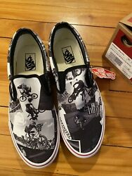 Rare Vans Slip On Wall To Wall The Birth Of The Freestyle Movement BMX 2 hip $229.99