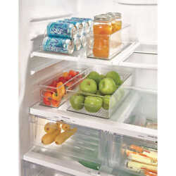 iDesigns 4 Piece Kitchen Bin Set for Refrigerator $34.99