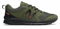 New Balance Men#x27;s FuelCore NITREL Trail Shoes Green with Black $44.99