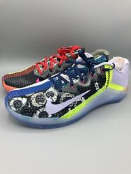 """Nike Metcon 6 X """"What The"""" Edition Training Shoes CK9387 706 Mens Size 12.5 NIB $179.99"""