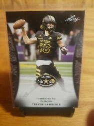 Trevor Lawrence 2018 Leaf Army #55 Clemson His 1st Ever Rookie Card RC SP $12.00