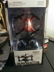 Prowler Palm Size Performance Stunt Drone by Propel Navigator Red New $20.00