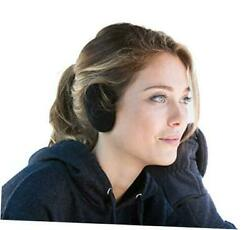 Earbags Bandless Ear Warmers Earmuffs with Thinsulate Medium Black $24.89