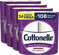 Cottonelle Ultra Comfort Care Soft Toilet Paper with Cushiony Cleaning Ripples $32.32