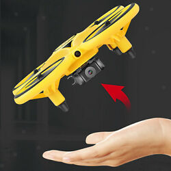 UFO RC Drone 360° Hover LED Light Hand Operated RC Helicopter Toys for Kids $29.37