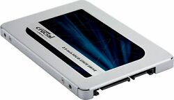 Crucial MX500 1TB 3D NAND SATA 2.5 Inch Internal Solid State Drive $99.99