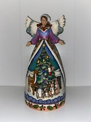 Jim Shore Christmas For All Great And Small Angel. 2007 #4007932 $45.00