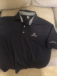 Footjoy Golf Shirt Large Navy $22.00