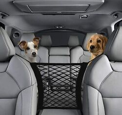 Car Dog Pet Barrier Guard Back Seat Safety Protector Mesh Net For SUV Truck USA $8.99