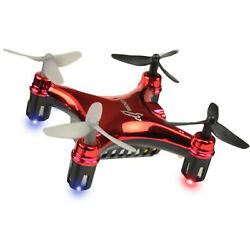 """Rocket RC 1.75"""" Flip Micro Drone 2.4G Wireless Quadcopter QC 0957 Red $14.95"""