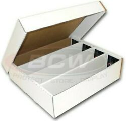 BCW Monster Storage Box 3200 CT. Sports amp; Pokémon trading 4500 gaming cards $15.99