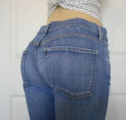 AGOLDE Womens Low Rise Crop Jeans Isabel Size 27 $39.99