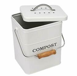 Indoor Kitchen Compost Bin for Kitchen Countertop Great for Food Scraps Carbo $39.61