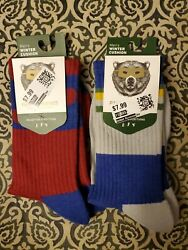 Pair Of Thieves Lot Of 2 New Nwt Winter Cushion Mens Socks Size 8 12 Warm $9.99