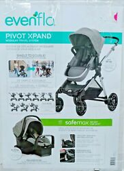 Evenflo Pivot Xpand Modular Travel System with Infant Car Seat $287.98