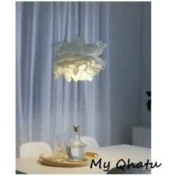Ikea Krusning Pendant Lamp Shade Cozy Lampshade White 17quot; Bedroom New $26.36