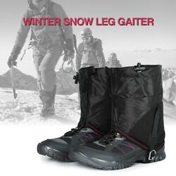 Outdoor Snow Gaiters Waterproof Short Legs Protection Cover Running Trail $12.99