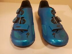 Specialized S Works Road Shoes Blue US8 EU41 $200.00