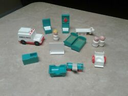 Vintage Fisher Price Little People Children Hospital Pick 1 FREE SHIPPING $6.49