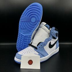 AIR JORDAN 1 RETRO HIGH OG quot;UNIVERSITY BLUEquot; 555088 134 SHIP NOW