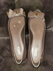 New without box Melissa jelly Flats brown size 7 $35.00