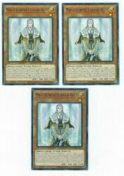 X3 YUGIOH MASTER WITH EYES OF BLUE LDS2 EN012 COMMON 1ST NM $1.48