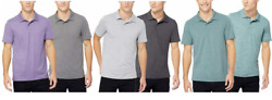 32 Degrees Cool Men#x27;s 2 Pack Soft Quick Dry Breathable Polo Shirts Variety #459 $21.99