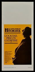 Film Cocktail For A Corpse Alfred Hitchcock Knot The Gola Stewart N05 $45.75