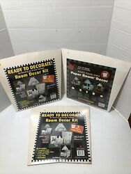 Vintage 1999 Pop Up Paper Room Accessories Beck Hill Group New Sealed Old Stock $29.95