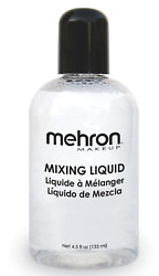 MEHRON MIXING LIQUID STAGE MAKEUP FACE BODYSPECIAL EFFECTS SEALER 4.5 OZ 133ML $10.95