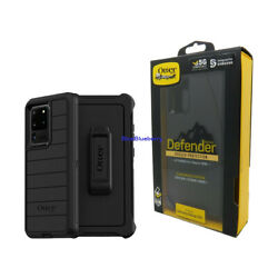 Otterbox Defender Pro Series Case Holster for Samsung Galaxy S20 Plus Black $15.95