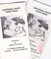 Tarot LWB Little White Book Instruction Manual Rider Waite Thoth and Others $4.00
