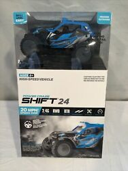 Power Craze Shift 24 Mini RC High Speed Buggy BLUE Used $10.99