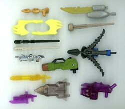 Transformers Lot of Parts Weapons Accessories AOE DOTM Energon Henkei Prime 2007 $21.99
