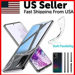 For Samsung Galaxy S20 S20 Plus Ultra Slim Thin Clear Soft Case Crystal Cover $2.89