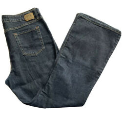 Levis Signature Womens At Waist Bootcut Dark Blue Denim 5 pocket 16 M $28.00