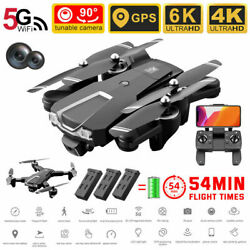 6K Dual Camera Switching GPS RC Quadcopter with WiFi Control 5G Folding Drone US $115.89