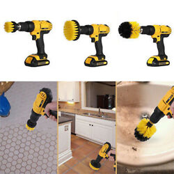 3PCS 1PC POWER SCRUBBER ELECTRIC DRILL BRUSH TILE FLOOR GLASS CLEANING TOOL HOT $6.68