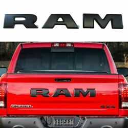 fits Ram Tailgate Letters Black For Dodge Ram 1500 years 2015 2016set 3 letters $77.00